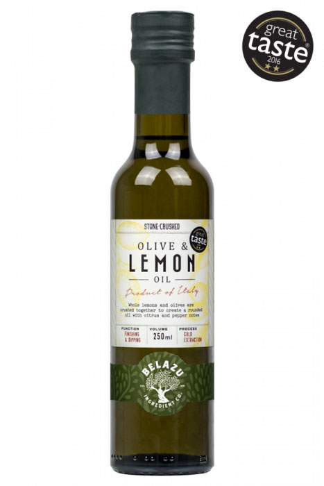 Extra Virgin Lemon Infused Olive Oil