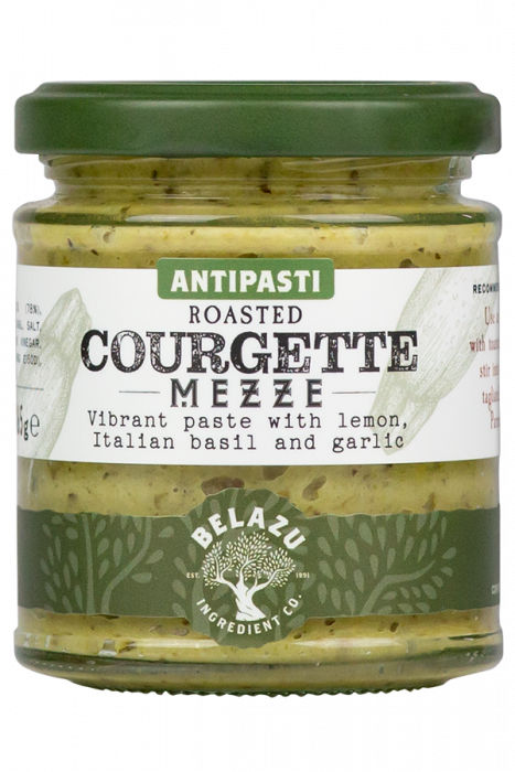 Roasted Courgette Mezze